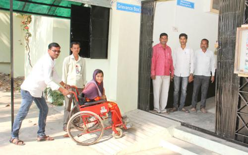 Wheel Chair for Divyangjan