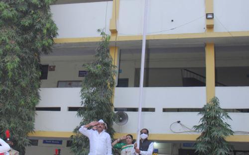 National flag Hoisting on Republic Day January 2021